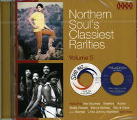 "NORTHERN SOUL'S CLASSIEST RARITIES 5  ""UNISSUED, COLLECTORS & RARITIES""  CD"