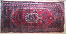 Antique Hand Knotted Wool Carpet Cm 80 X 170
