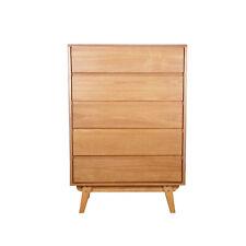 LOFT Five Milo Bedroom Premium Ash Storage Five Chest of Drawers - RRP £316.80