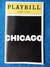 Chicago - Shubert Theatre Playbill - May 1997 - Ann Reinking - Bebe Neuwith