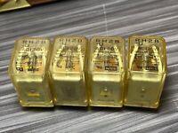 Lot of 4, IDEC RH2B-U AC120V General Purpose Relay 120 VAC 10 Amp ICE CUBE 8 PIN