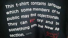 GUNS N' ROSES 1991 Go F*#k Off vintage licensed concert tour shirt LG NEW!
