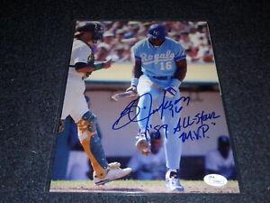 BO JACKSON signed 8 X 10 MINT photo autographed ROYALS auto RAIDERS Angels Sox
