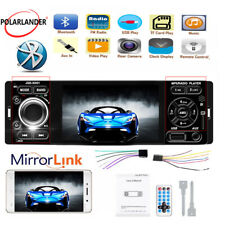 """New listing 4"""" 1 Din Car Radio Bluetooth Audio Mirror Link Fm Touch Screen Mp5 Player Stereo"""