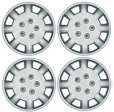 "Set of 4 Wheel Trims / Hub Caps 14"" Covers fit Nissan Micra Almera Note Pixo"