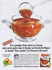 PUBLICITE ADVERTISING 094 1966 ROYCO par Françoise Bernard