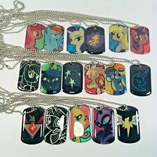 My Little Pony Dog Tag Necklace Lot