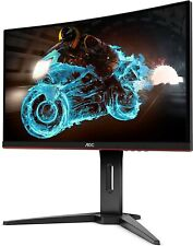 24in. AOC Curved Gaming Monitor 144hz 1ms PS5 (screen has dark shadow)