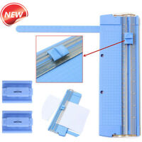 Portable A4 Precision Paper Card Art Trimmer Photo Cutter Cutting Mat Blade #LK