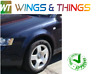 Audi A4 2004-2008 Passenger Side Wing N/S Right Painted Ming Blue Pearl LZ5L/Q5