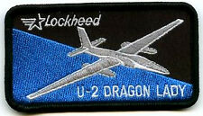 Lockheed U-2 Haute Altitude Espion Plan Dragon Lady Crayon Poche Moral Patch