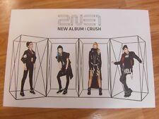 2NE1 - CRUSH NEW ALBUM  [ORIGINAL POSTER] *NEW* K-POP