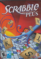 SCRABBLE PLUS Crossword Board Game for Windows XP/Vista PC - Brand New!