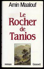 █ Le ROCHER de TANIOS Roman Amin Maalouf éd° Bernard Grasset 1993 █