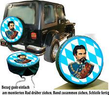 Bavière Roi Ludwig Voiture - Truck Caravane Jeep Pneu De Rechange Référence Idée