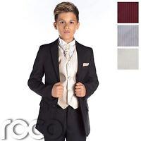 Boys Black Suit, Boys Prom Suit, Slim Fit Suit, Boys Formal Suit, Wedding Suit