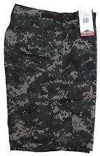 Urban Digital Camo Men's BDU Cargo Shorts / Poly Cotton - Zipper / TRU SPEC 5554