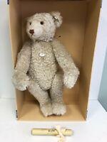 Teddybar Teddy Bear 1908 Weiss 65cm Replica 1994 Steiff w/Box Tags 406041 Cert.