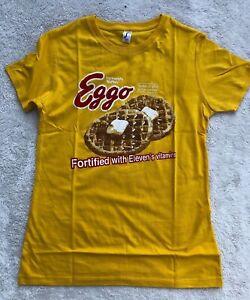 """Stranger Things"" inspired T-Shirt > 11 Eleven Eggo's - Ladies Fit"