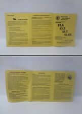 Manuale Uso e Manutenzione Owner's manual FRANCO MORINI MOTORI S5N S5E S5T S5GS