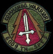 USAF 6009th Security Police Training SQ Commando Warrior Clark AB Patch T&B