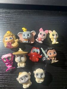 Disney Doorables - Series 6 - Lot 2 - 10 Figures - Princess - Raya - Winnie