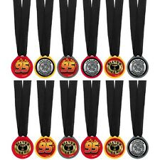 Disney Cars Party Supplies Favours 12 AWARD MEDALS Pack Genuine Licensed