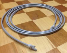 Dental Air Water Syringe Tubing 7' Hose with Sleeve Fittings Gray