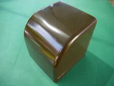 DDR Toilettenpapierhalter Toilettenpapierspender Klopapierhalter braun Plaste