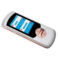 Voice Translator Smart Language Two Way Translation 2.0inch Screen White