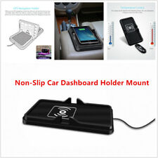 Qi Wireless Fast Phone Charger NonSlip Car Dashboard Holder fit for Samsung Size