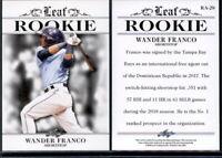 2018 Leaf ROOKIE Wander Franco card RA-28 RC Rays