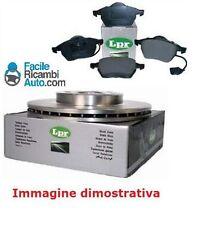 Kit dischi e pasticche freno Ant. Alfa Romeo 166 2.4 JTD 20V 132kw