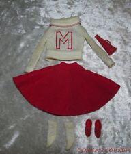 Vintage Barbie Outfit ~ Cheerleader ~ 1964-65 ~ Sweater, Skirt, Shoes, Socks