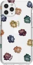Coach - Dreamy Peony Protective Case for iPhone 11 Pro - Clear/Rainbow/Glitter