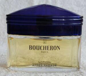 VINTAGE BOUCHERON AFTER SHAVE 75 ml 2.5 oz SPLASH made in FRANCE RARE