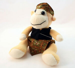 Bali Monkey Plush Souvenir Collectable Soft Toy with traditional Balinese dress