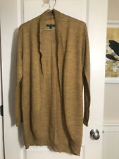 Eileen Fisher 100% Baby Alpaca Open Front Knit Cardigan Sweater -- Size S