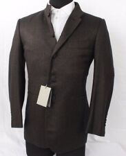 NWT! TOM FORD BROWN AND BLACK TWEED WOOL BLEND JACKET SIZE 48C TFR14