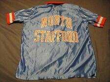 Rawlings Vintage Ladies Basketball North Stafford Nylon Jacket Lrg Made in Usa