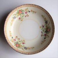 "3 Vintage National China Fruit/Dessert/Sauce Bowls 5 1/4"" Diameter Patricia"