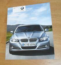 BMW 3 Series Brochure 2009 320i 325i 335i 318d 320d 325d 330d 335d M Sport E90