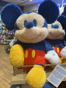 2021 Disney Parks Weighted Emotional Support Plush Mickey Mouse New