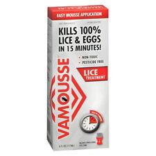 Vamousse Lice Treatment Easy Mousse Application 6 fl oz (177 ml)