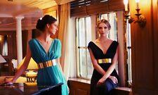Damen Abendkleid Gürtel Metall Gold Taillengürtel Abiye Kemeri Taille Breite 4cm