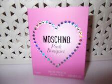 Women's Moschino Pink Bouquet 1 x 1 ml  Eau De Toilette Sample Spray.New Release