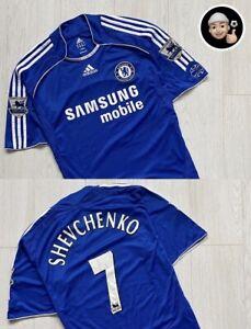 2006 2008 | Shevchenko Chelsea England Adidas Soccer Home Vintage Shirt Jersey