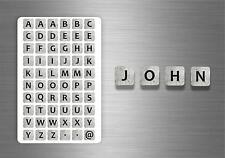 60x adesivi adesivo sticker alfabeto scrapbooking diy lettere auto moto r2 nomi