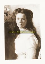 mm29 - Grand Duchess Olga Romanov- daughter of last Czar - Royalty photo 6 x4