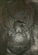 HARLEY DAVIDSON EAGLE 3XL XXXL( ALSO HAVE IN LARGE & XL )  MENS LEATHER VEST